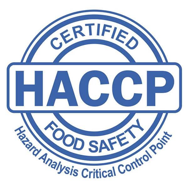 Logo HACCP Logo Ecolabel Bioarmonia Vicenza